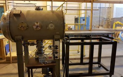 Satellite-Environmental-Stress-Testing-Plate-Within-A-Vacuum-Chamber-85852