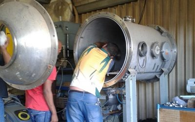 Satellite-Environmental-Stress-Testing-Plate-Within-A-Vacuum-Chamber-989889